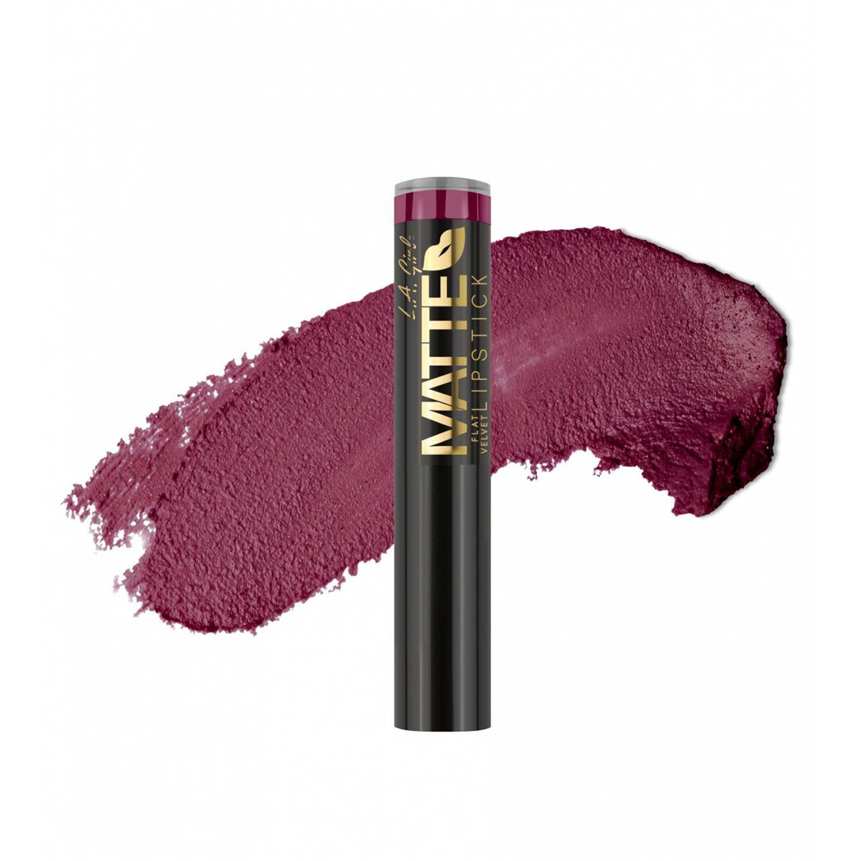 L.a. Girl Matte Flat Velvet Lipstick Va Voom Lápiz labial