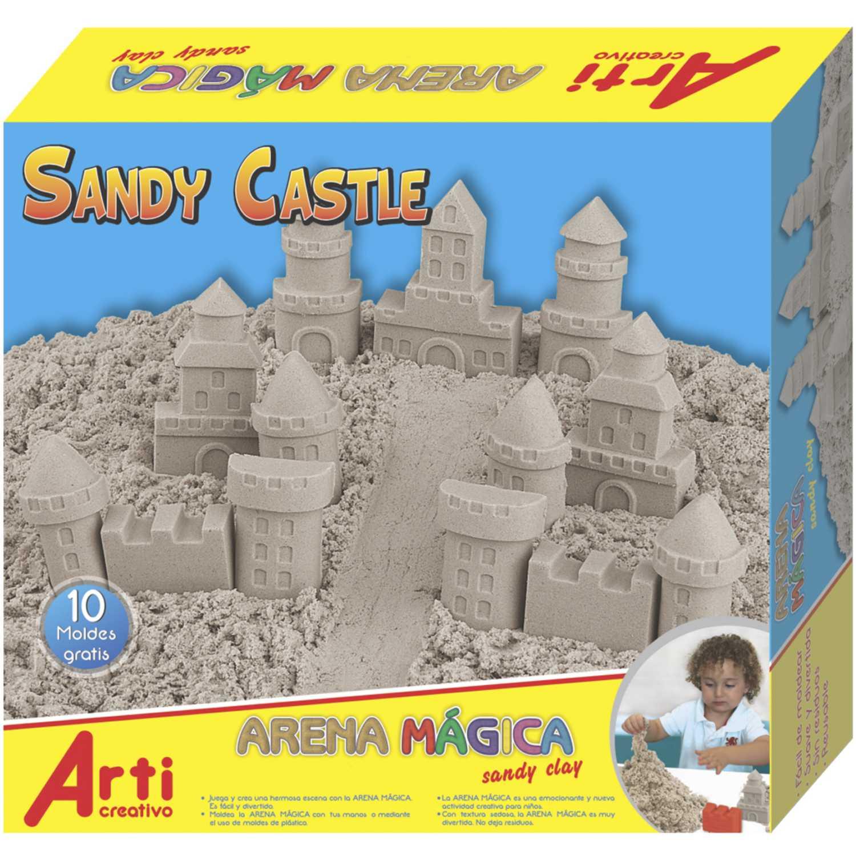Arti Creativo Ac Arena Magica Sandy Castle Arena Manualidades con arena