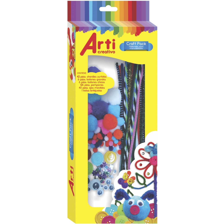 Arti Creativo AC ACC.P/ MANUALIDADES CRAFT SET Varios Arcilla y la pasta