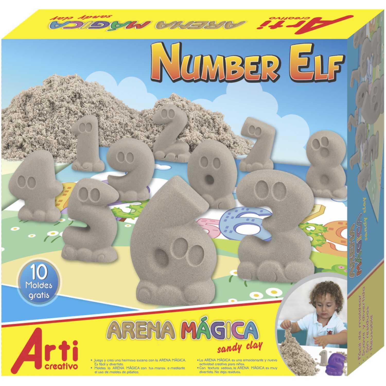 Arti Creativo Ac Arena Magica Number Elf Arena Habilidades básicas