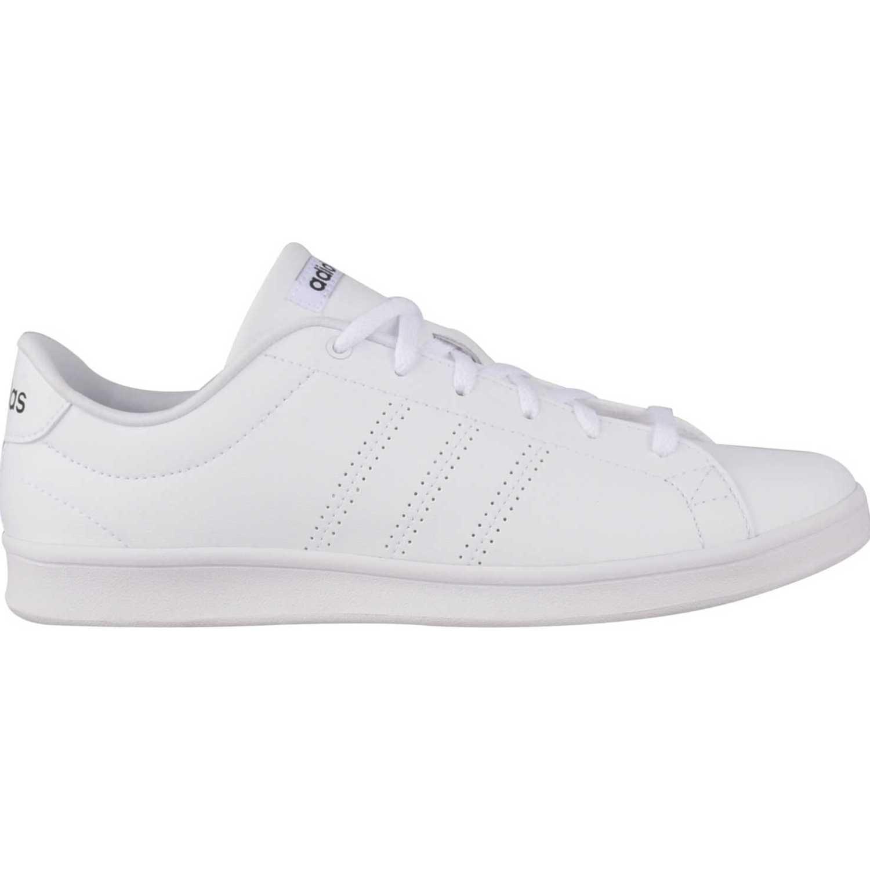 Cuña de Mujer adidas NEO Gris Blanco advantage clean qt w