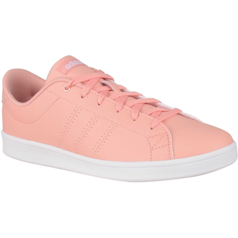 Adidas Advantage Clean Qt Melon / blanco Walking