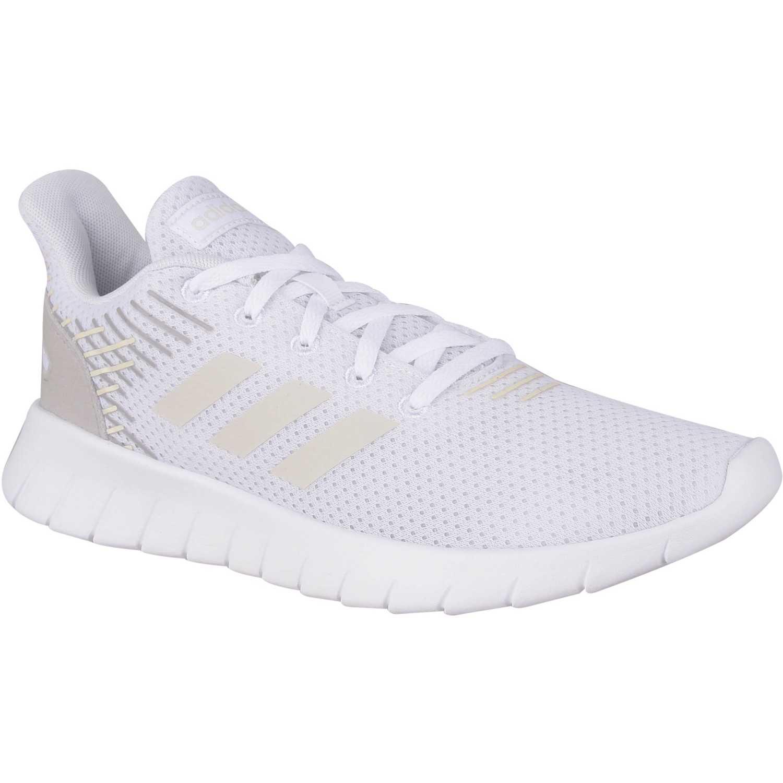zapatillas running adidas mujer blancas