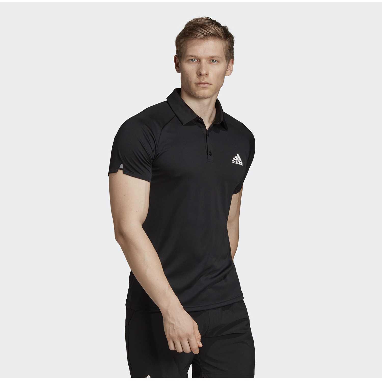 Adidas club c/b polo Negro Camisetas y Polos Deportivos