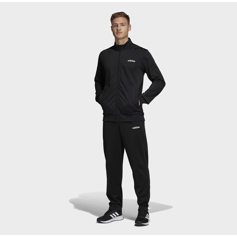 Adidas mts basics Negro Buzos Deportivos