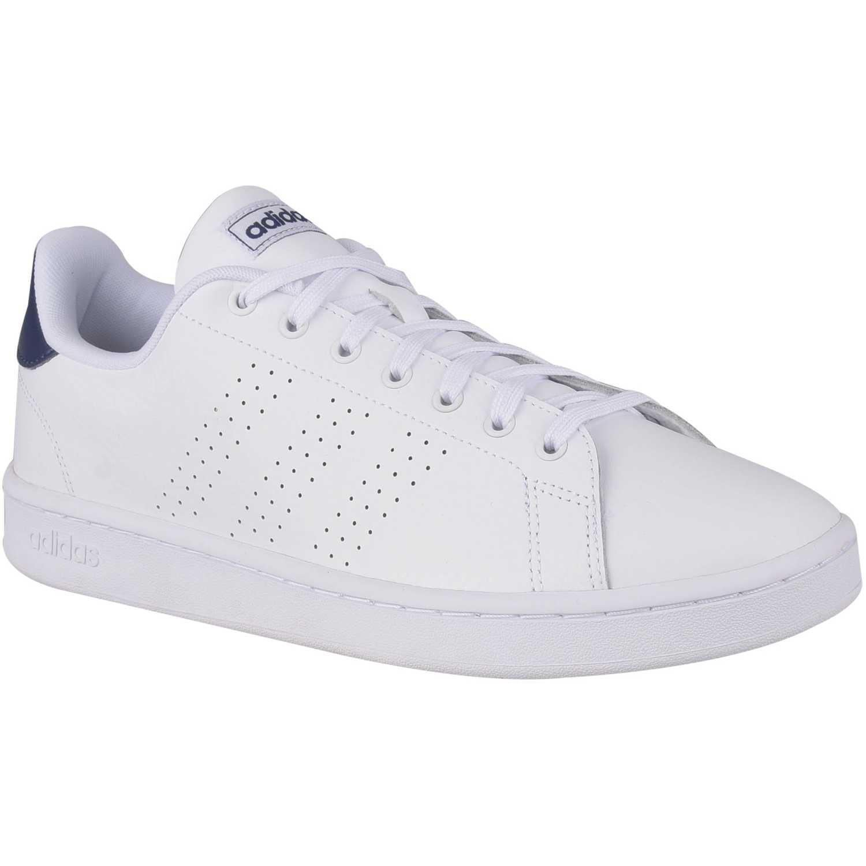 De Azul Blanco Advantage Zapatillas Adidas Hombre 35RcqL4Aj