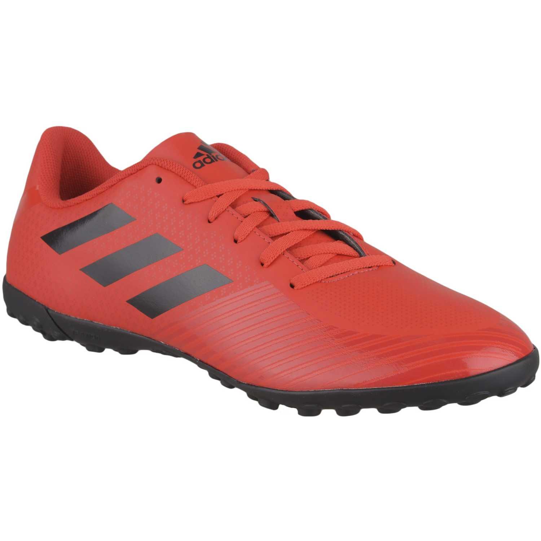 zapatillas adidas rojo mujer