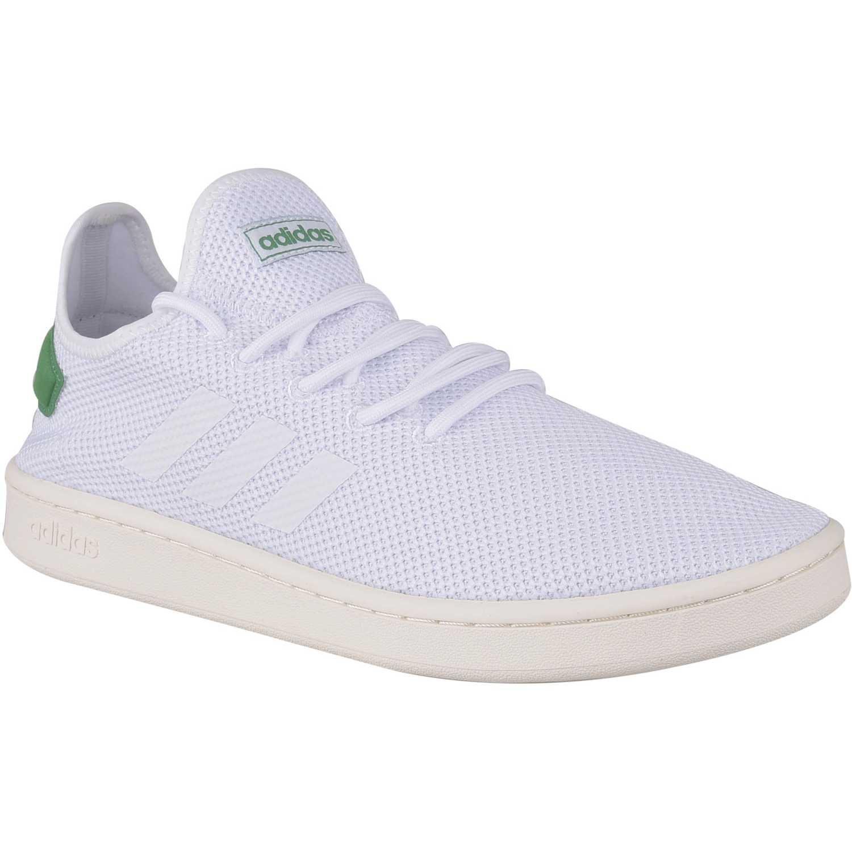 adidas blancas court