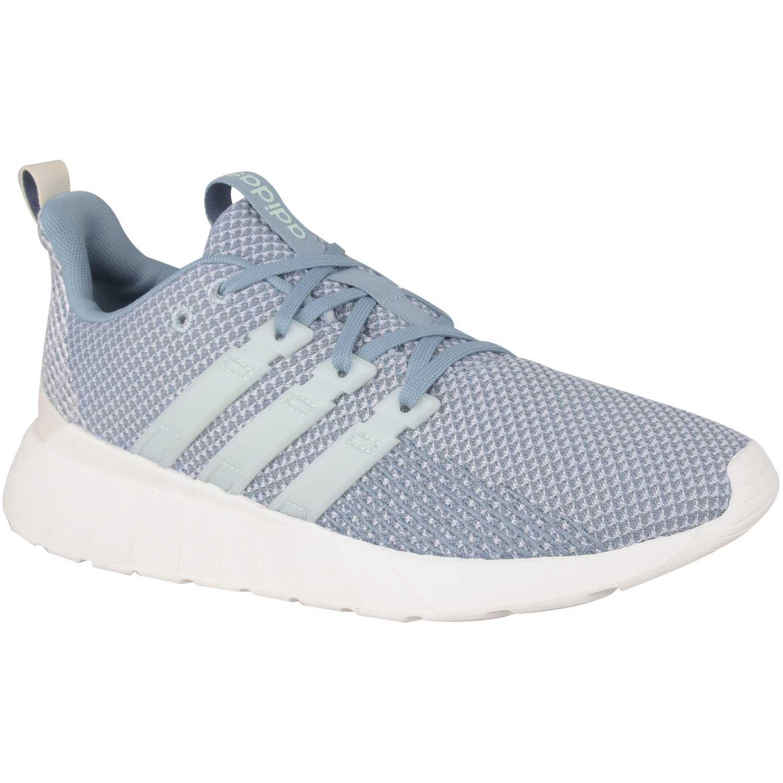 Adidas Questar Flow Celeste / blanco Correr por carretera