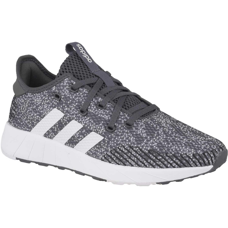 Adidas questar x byd Gris / blanco Running en pista