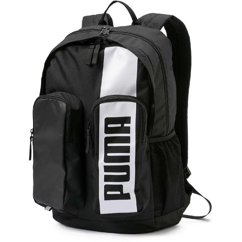 Puma puma deck backpack ii Negro / blanco Mochilas Multipropósitos