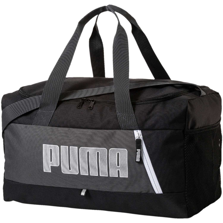 Puma fundamentals sports bag s ii Negro / blanco Bolsos de gimnasio