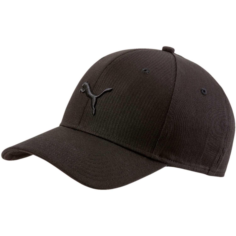 Gorro de Hombre Puma Negro stretchfit bb cat cap