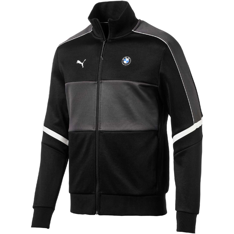 Casaca de Hombre Puma Negro / blanco bmw mms t7 track jacket