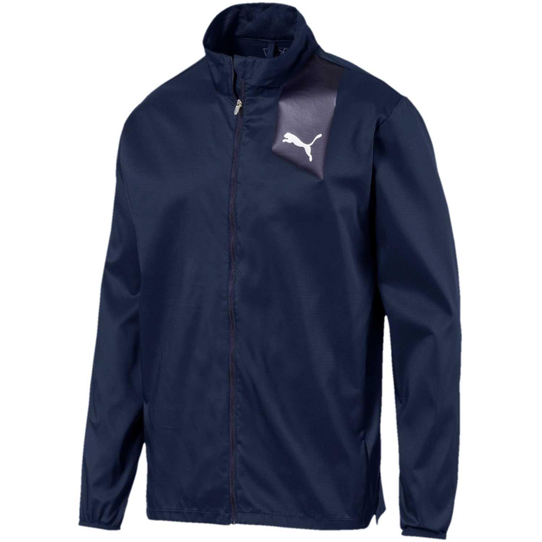 Puma ignite jacket Azul Rompevientos