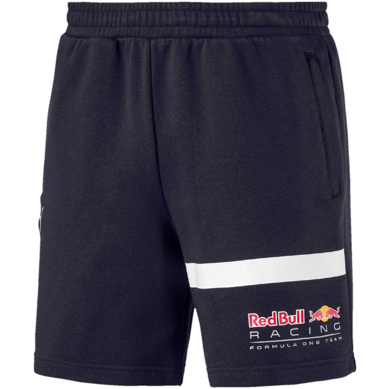 Puma rbr logo sweat shorts Azul / blanco Shorts Deportivos