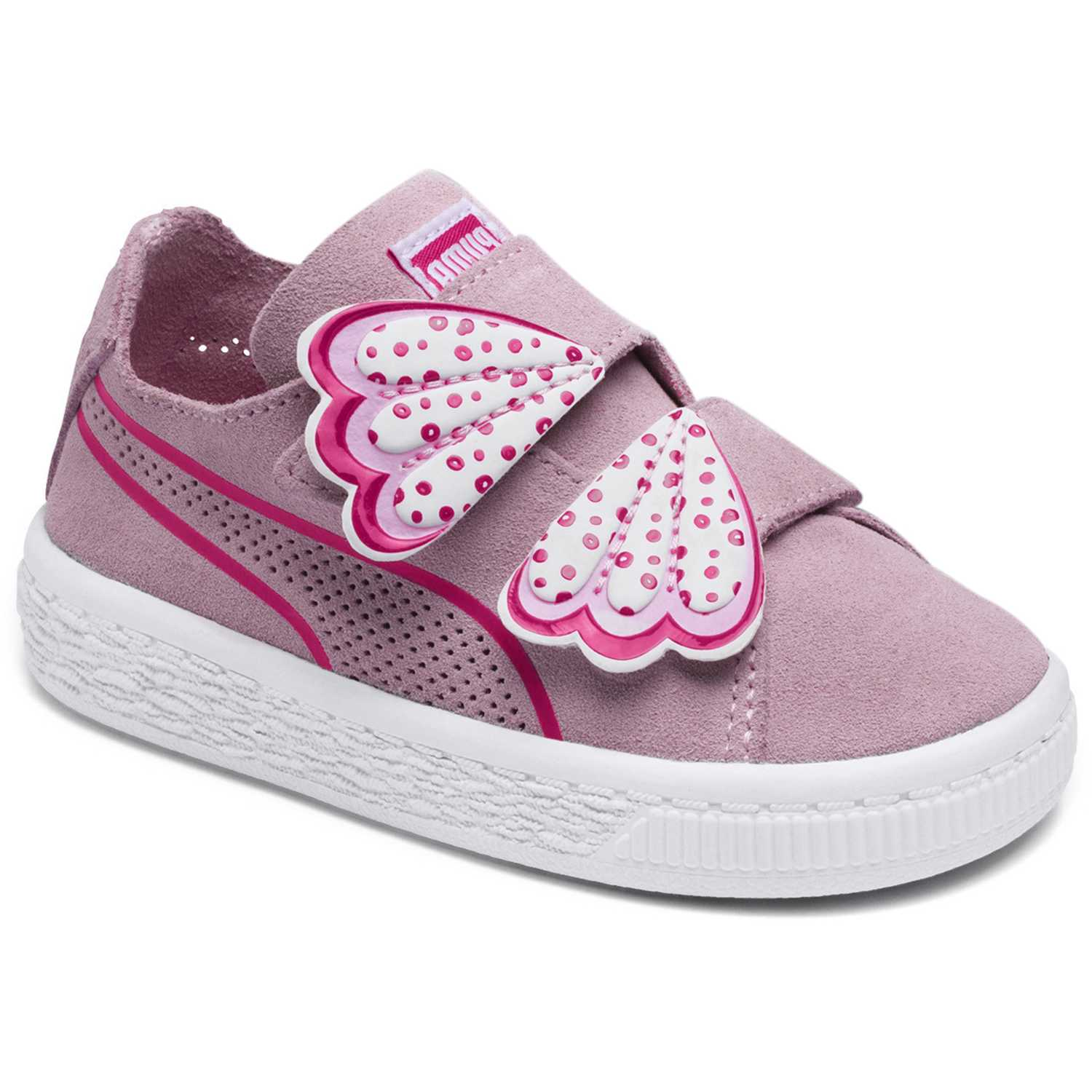 Puma suede deconstruct butterfly v inf Rosado / blanco Walking