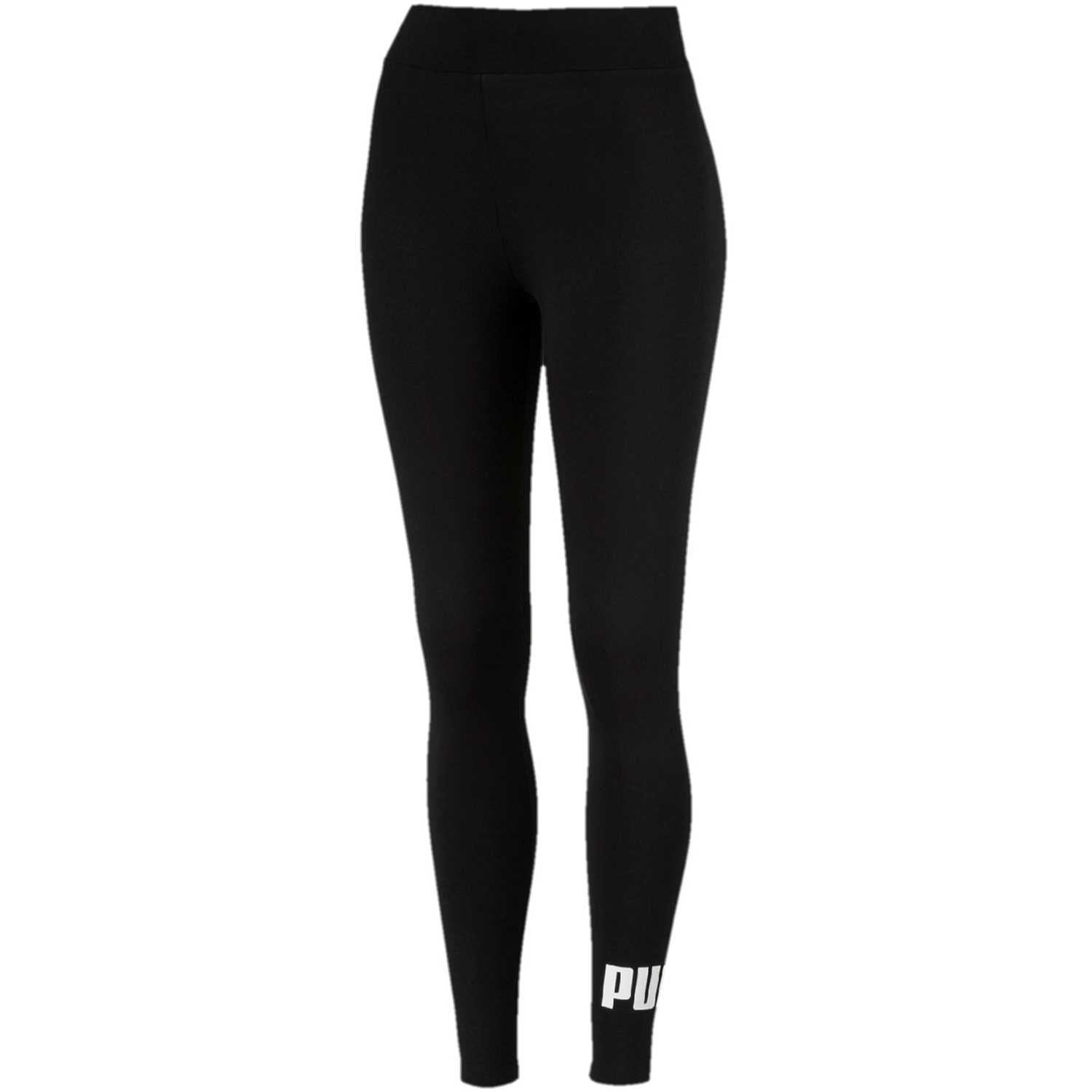 Puma Ess Logo Leggings Negro / blanco Leggings Deportivos