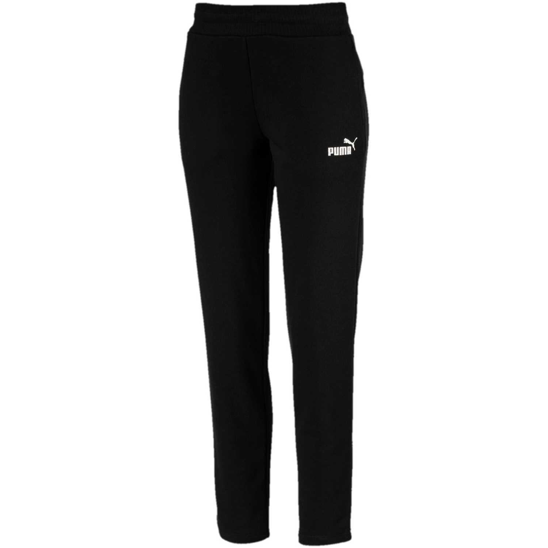 Puma Ess Sweat Pants Tr Op Negro / blanco Pantalones deportivos