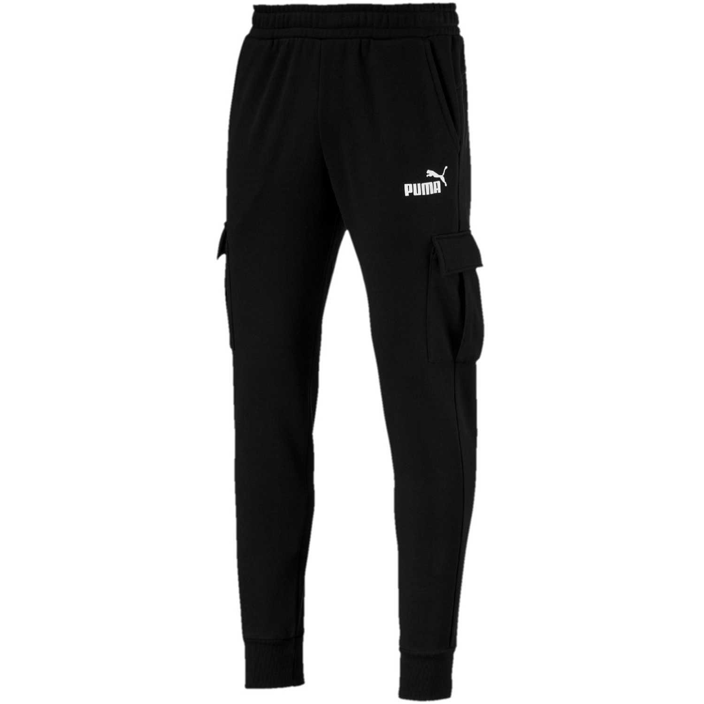 Puma ess+ pocket pants Negro / blanco Pantalones Deportivos