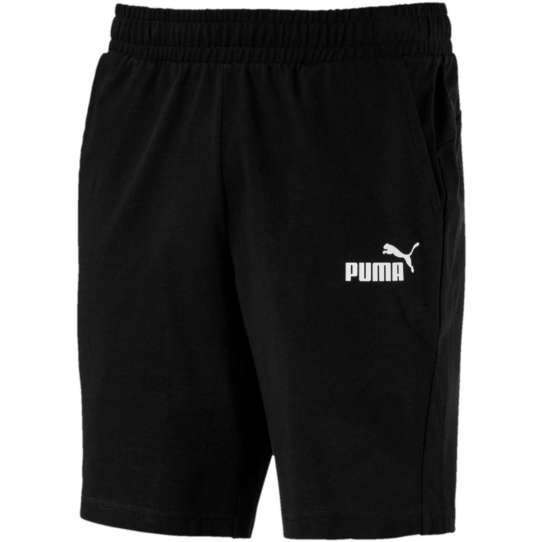 Puma ESS Jersey Shorts Negro / blanco Shorts Deportivos