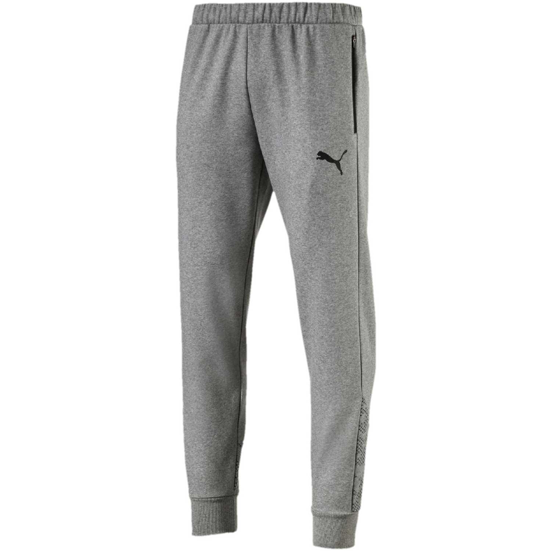 Pantalón de Hombre Puma Gris modern sports pants fl cl