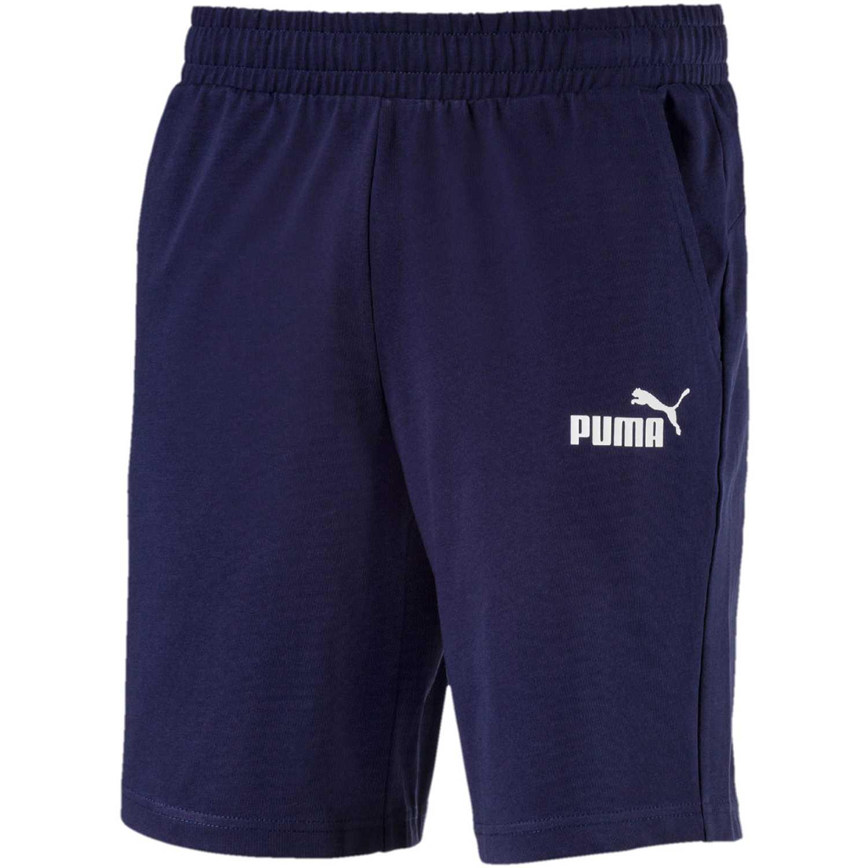 Puma ESS Jersey Shorts Azul / blanco Shorts Deportivos
