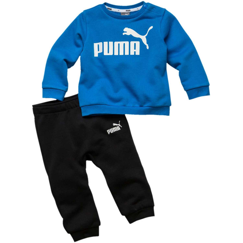 Buzo de Hombre Puma Azulino / negro minicats ess jogger tr