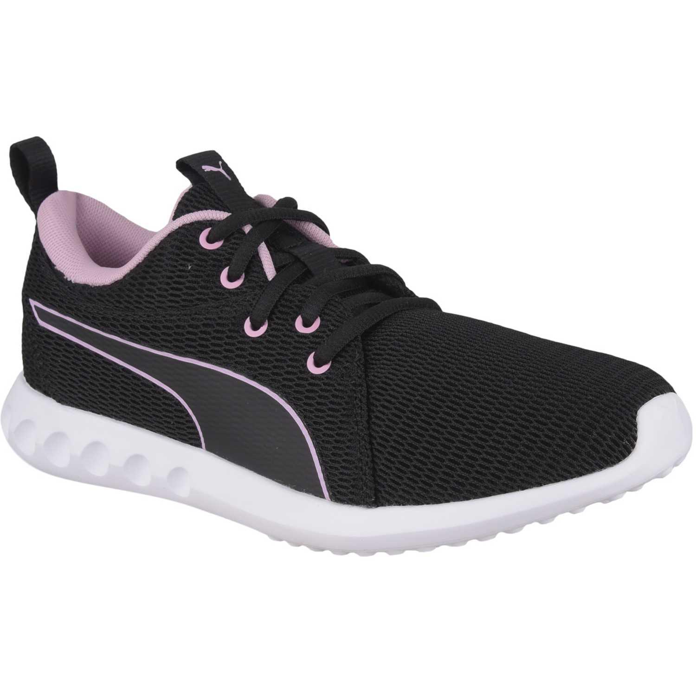 Puma Carson 2 New Core Wn'S Negro / rosado Calzado de correr