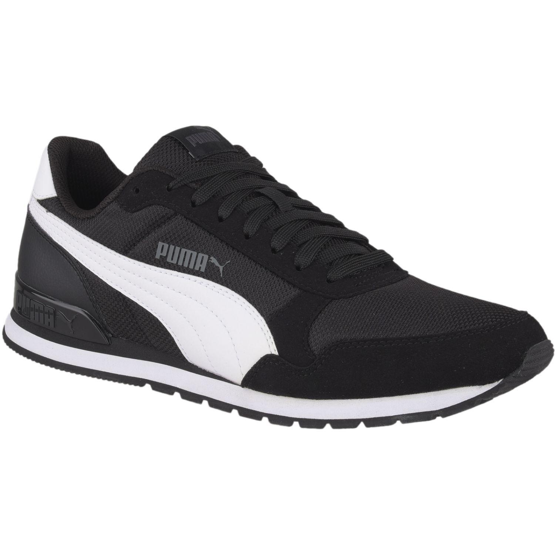 Puma st runner v2 mesh Negro / blanco Walking