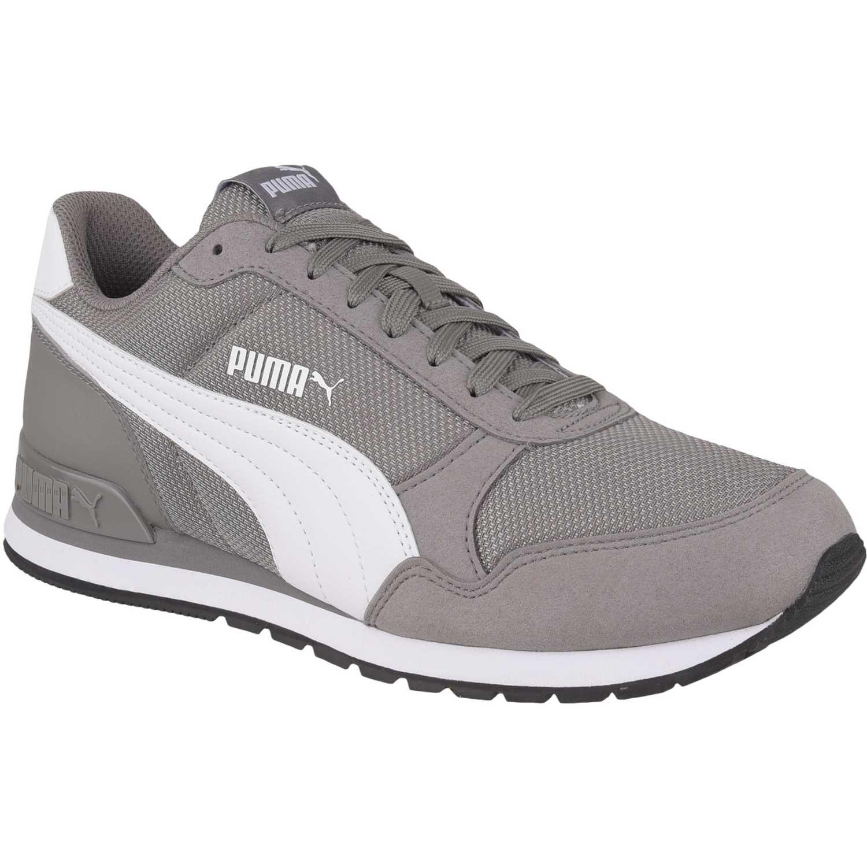 Puma st runner v2 mesh Gris / blanco Walking