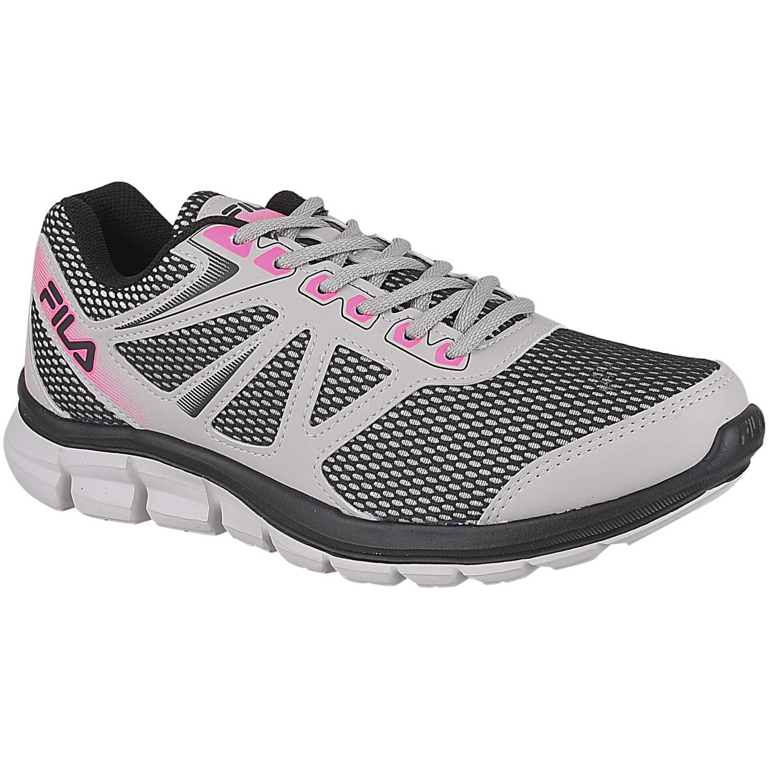 Fila tenis fila flash feminino Gris / rosado Walking