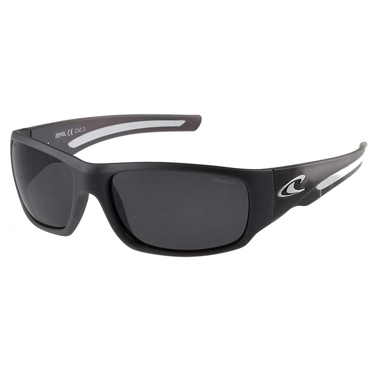 ONEILL matte black - grey surfboard / silver mirror polar Negro Lentes de Sol