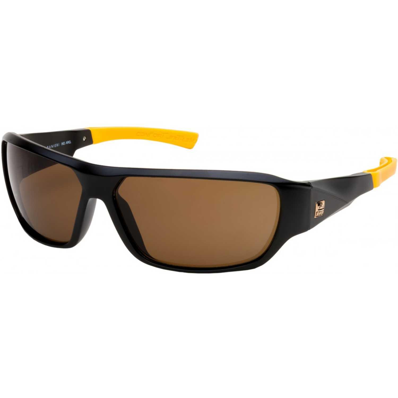 Reef arch arch cal.65  c3 negro solido mate term. naran Negro / amarillo Lentes de Sol