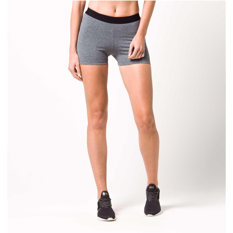 Fila women shorts train Gris Shorts Deportivos