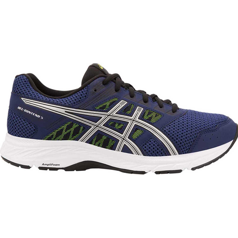 Asics gel contend 5 Azul / blanco Trail Running