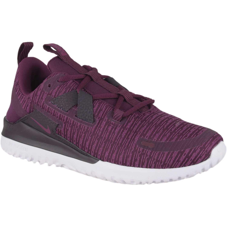 Nike Wmns Nike Renew Arena Vino / negro Running en pista