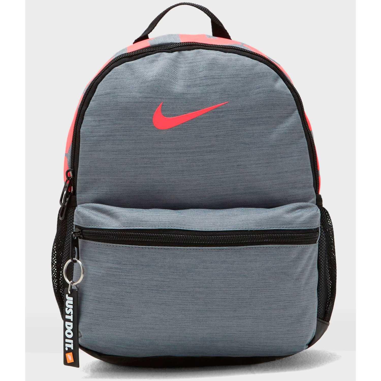 Nike y nk brsla jdi mini bkpk Gris / coral mochilas