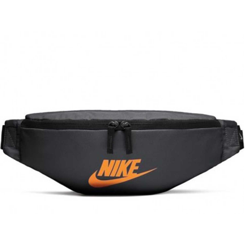Canguro de Hombre Nike Negro / naranja nk heritage hip pack