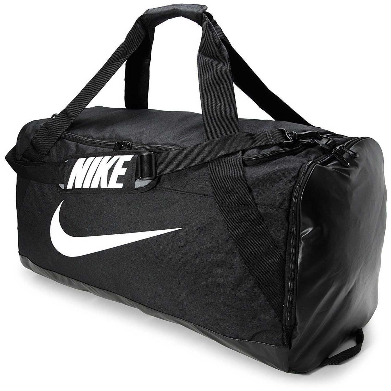 Nike nk brsla xl duff Negro Bolsos de gimnasio