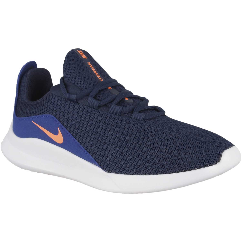 Casual de Hombre Nike Azul / naranja nike viale