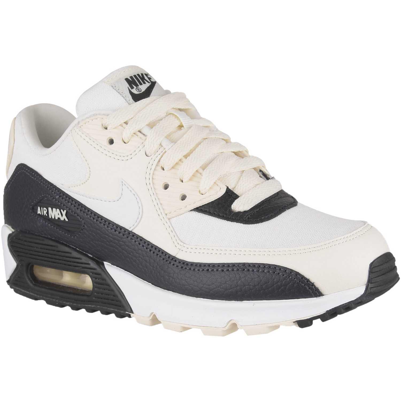 Cuña de Mujer Nike Blanco negro w air max 90  