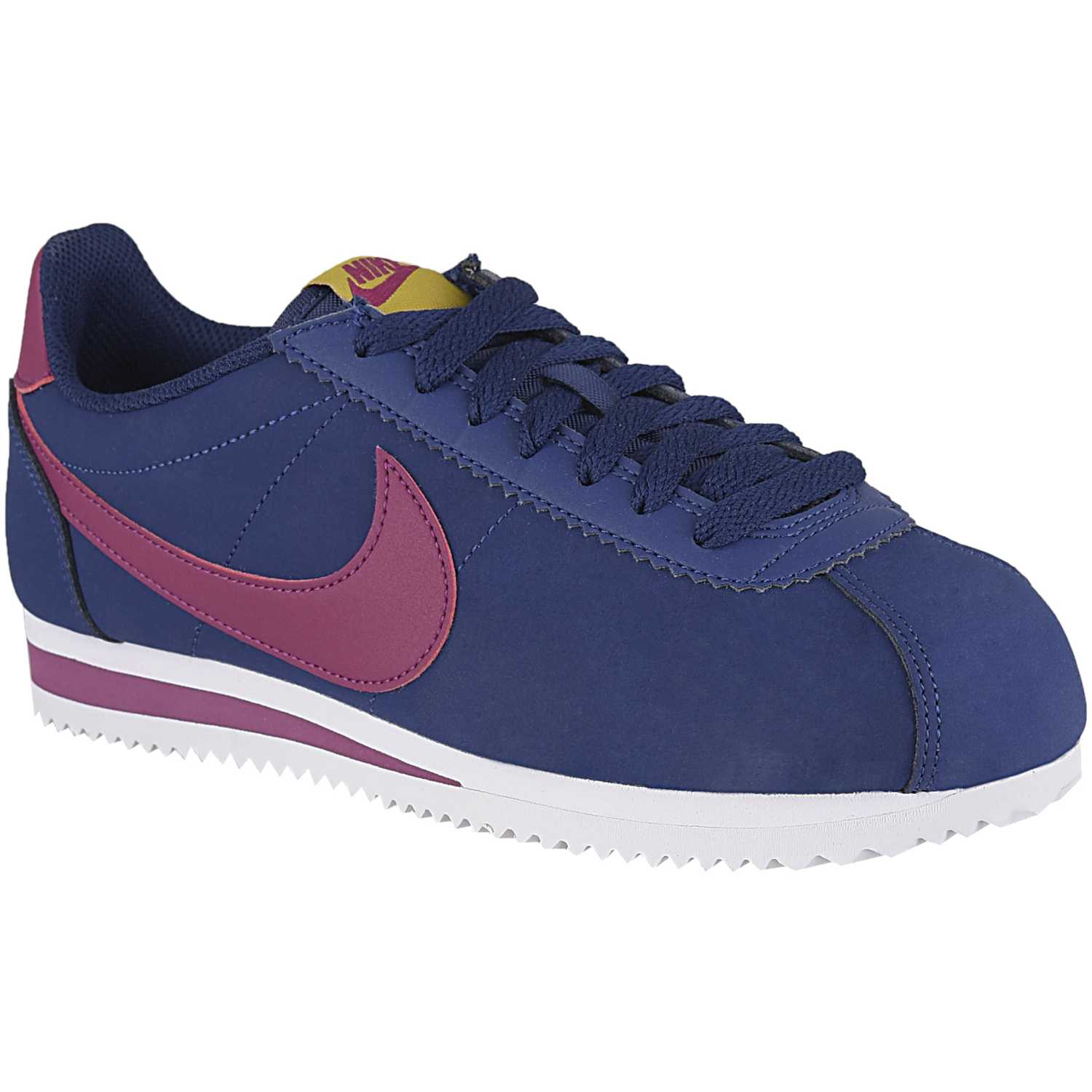 Casual de Mujer Nike Azul / rosado wmns classic cortez leather