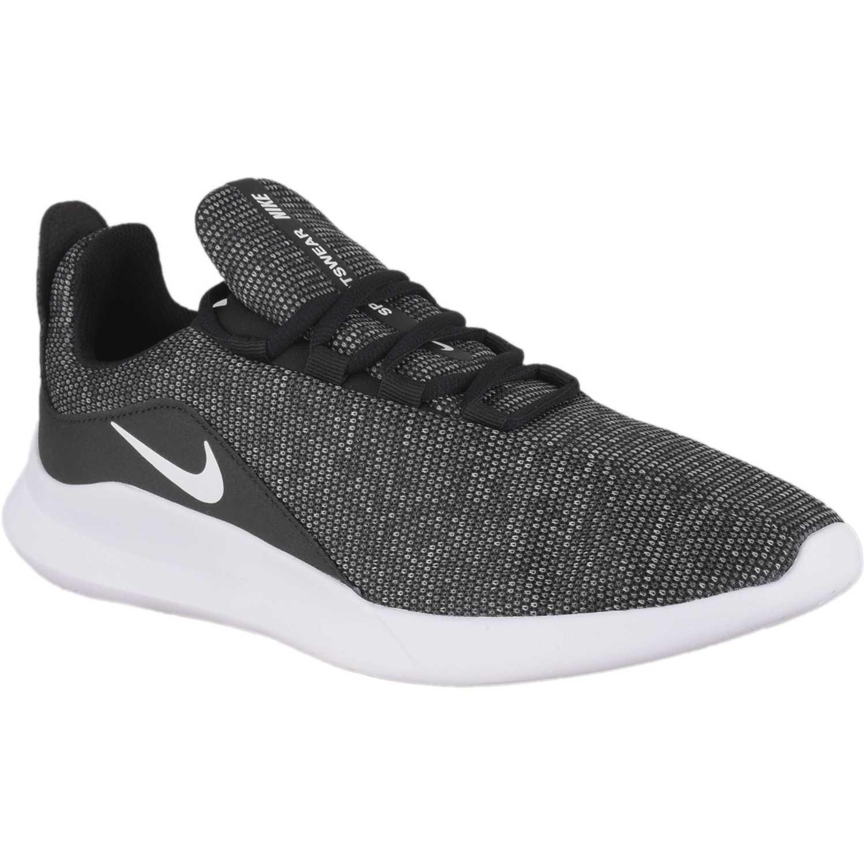 Nike nike viale premium Negro / blanco Walking