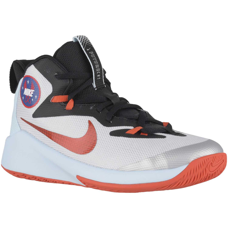 Nike nike future court sd bg Blanco / naranja Muchachos
