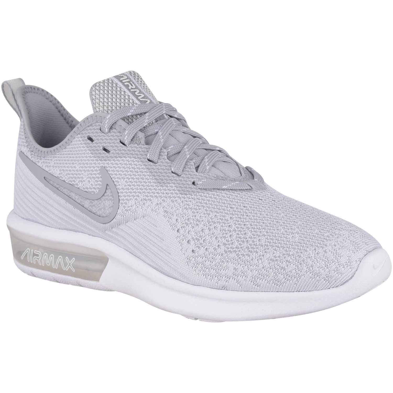 Zapatilla de Mujer Nike Gris / blanco wmns nike air max sequent 4