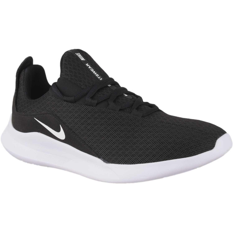 Nike nike viale Negro / blanco Walking