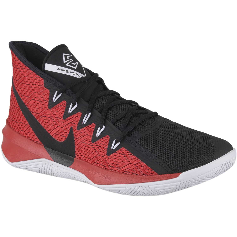 Nike nk air precision Rojo negro Hombres  