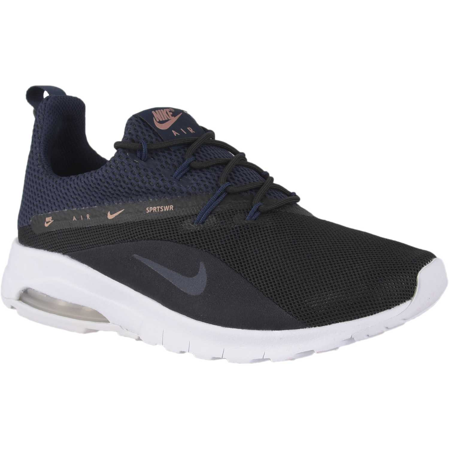 Nike Wmns Air Max Motion Racer 2 Negro / blanco Walking