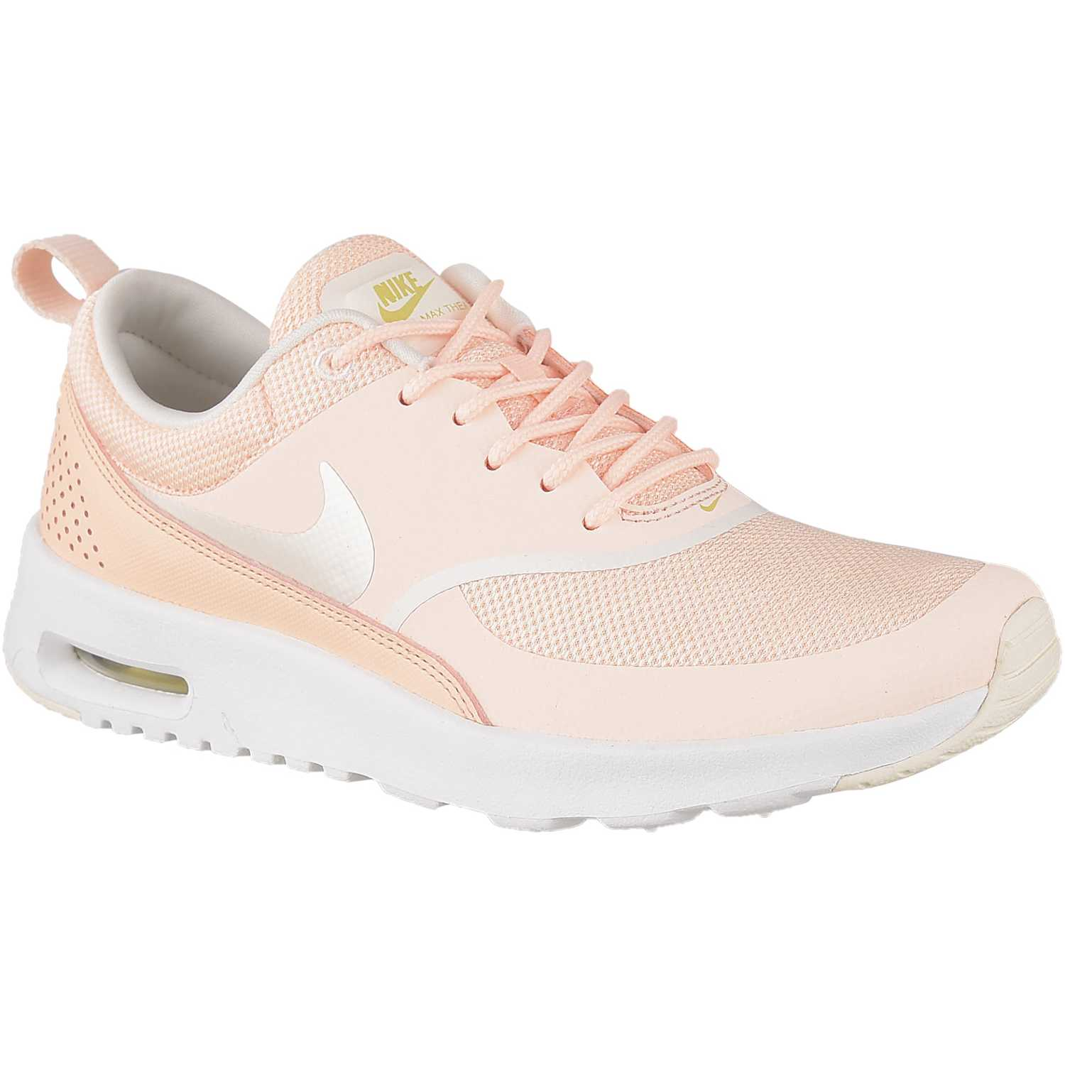 Nike w nike air max thea Melon / blanco Walking